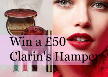 Win a £50 clarins's Hamper