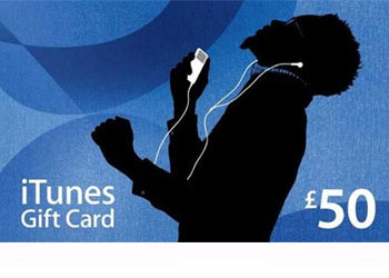 Win £50 iTunes Gift Card